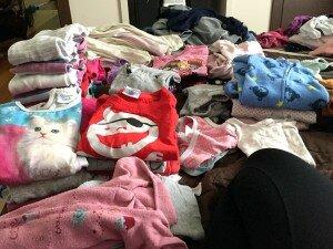 sterta prania - co robić przy składaniu