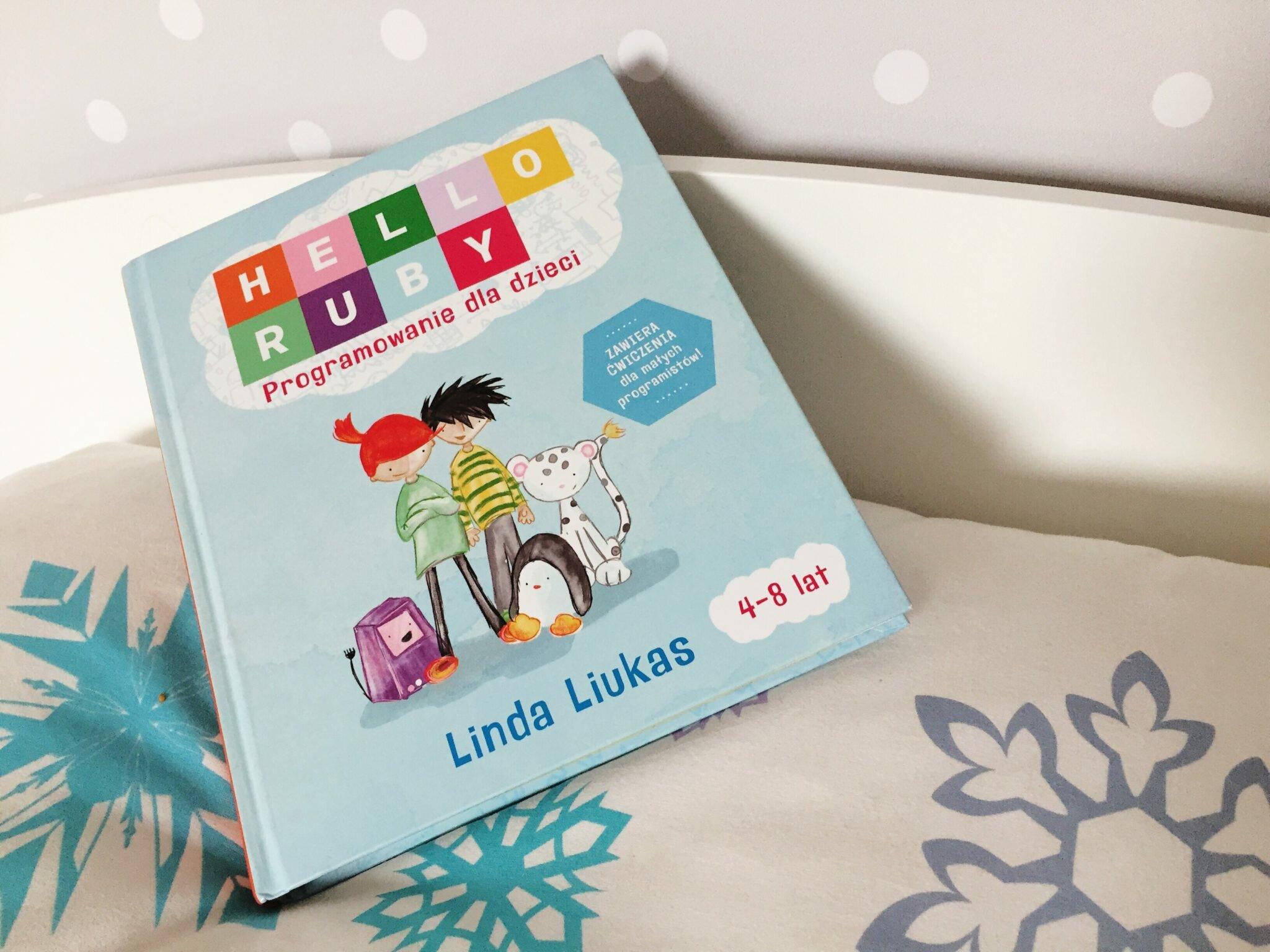 zdjęcie książki Hello Ruby Książka o programowaniu dla dzieci Matka w kratkę